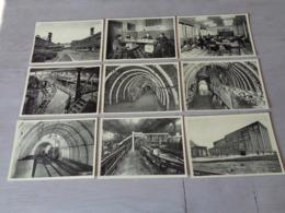 Beau Lot De 30 Cartes Postales De Belgique Charbonnages ( Charbonnage ) De Monceau - Fontaine - 30 Scans - Cartes Postales