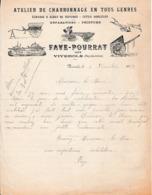 1915 - VIVEROLS - Lettre De Mme FAYE Ayant Son Mari Mobilisé - Demande D'indemnité - Documents Historiques