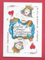 PARIS.Salon De L'Amour Rèvolutionnaire 1989 Espace Champerret Illustrateur Jean Luc Perrigault . - Commerce