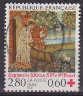 Tapisserie D'Arras, Saint Waast - FRANCE - Croix Rouge - N° 2915 - 1994 - France