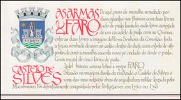 Portugal-Markenheftchen 1709 BuS Kastell Silves, Postfrisch - Markenheftchen