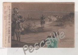 MALAGA - CP PUBLICITAIRE HIJO Y NIETO DE F. RAMOS TELLEZ VINS FINS - DON QUIJOTE - PARTE PRIMERA CAPITULO XIX - 1906 - Málaga