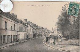 28 - Très Belle Carte Postale Ancienne De  DREUX  Rue Du Val Des Caves  En Eure Et Loire - Dreux