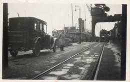 Carte-Photo - A Identifier - Embarquement D' Une Automobile ( NL ) Sur Un Navire Ostende Douvres Ou Douvres-Ostende - Oostende
