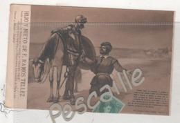 MALAGA - CP PUBLICITAIRE HIJO Y NIETO DE F. RAMOS TELLEZ VINS FINS - DON QUIJOTE - PARTE PRIMERA CAPITULO X - 1906 - Málaga