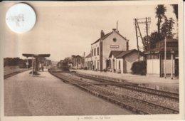 28 - Très Belle Carte Postale Ancienne De  BROU  La Gare  En Eure Et Loire - Andere Gemeenten