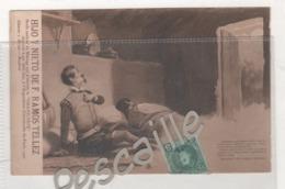 MALAGA - CP PUBLICITAIRE HIJO Y NIETO DE F. RAMOS TELLEZ VINS FINS - DON QUIJOTE - PARTE PRIMERA CAPITULO XII - 1906 - Málaga
