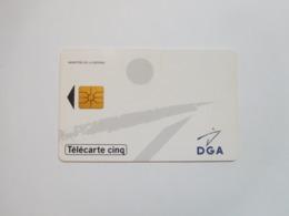 Télécarte Privée , 5U , Gn109 , DGA , Cote : 10 Euros - Frankreich