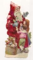 PERE NOEL  AVEC ENFANTS  ENVIRON  12.5CMX 6CM E23 - Motiv 'Weihnachten'