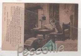 MALAGA - CP PUBLICITAIRE HIJO Y NIETO DE F. RAMOS TELLEZ VINS FINS - DON QUIJOTE - PARTE PRIMERA CAPITULO I - 1906 - Málaga
