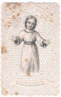 Santini 13 - Santino Ornato A Punzone, Bambino Gesù,  Leggere Macchie, Buassè Lebel N. 788 - Santini