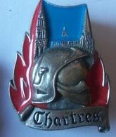 INSIGNE POMPIERS  CHARTRES - Firemen
