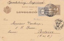Hongrie Entier Postal Illustré 1898 - Postal Stationery