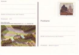 ALLEMAGNE : 1992-  Entier Postal Neuf - Erfurt - Philatelia 92 Berlin - [7] República Federal