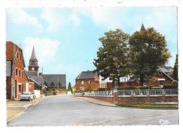 BERTINCOURT (62) Cpsm Centre Du Village - Bertincourt