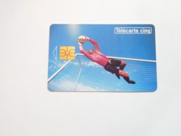 Télécarte Privée , 5U , Gn41 , Football , Cote : 30 Euros - France