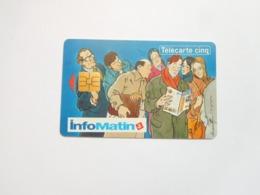 Télécarte Privée , 5U , Gn15a ,  Infomatin , Cote : 9 Euros - Frankreich