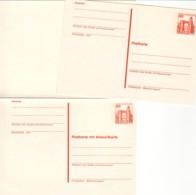 ALLEMAGNE : Lot - Entier Postal Doube  + Carte Postale - [5] Berlín