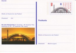 ALLEMAGNE : 1997 - Entier Postal Neuf -  Foire De Leipzig - [7] República Federal