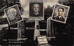 Nederland  Limburg      Vaals    Drielandenpunt Drie Postzegels  Hoogste Punt Van Nederland      L 1116 - Vaals