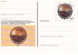 ALLEMAGNE : 1992-  Entier Postal Neuf  - Globe Terrestre - - [7] República Federal