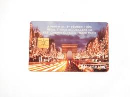 Télécarte Privée , 5U , Gn18 , Champs Elysées - Frankreich