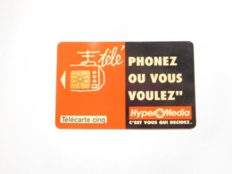 Télécarte Privée , 5U , Gn27 , Hyper Média - Frankreich