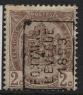 Cote 1500 Préo Roulette FONTAINE L'EVEQUE 1899. Cat. 246. Position A - Préoblitérés