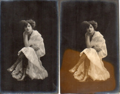 Femme Photo 783 Artiste 1900 X 2 Bottines - Frauen