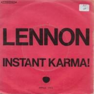 "John Lennon 45t. SP ""instant Karma"" - Vinyl Records"