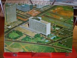 148155 BRASIL BRASILE BRASILIA HOTEL NACIONAL VISTA AEREA - Brasilia