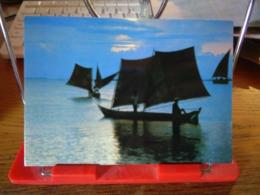 148167 BRASIL BRASILE  SUNSET TYPICAL BOAT - Salvador De Bahia