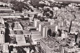 PS / ALGERIE . Cpsm 9X14 . ALGER La Blanche . Le Boulevard Laferrière & La Délégation Générale (Vue Aérienne) - Alger