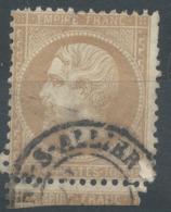 Lot N°50951  N°21, Oblit Cachet à Date De Moulins-sur-Allier, Allier (3) - 1862 Napoléon III.