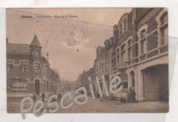 FLANDRE OCCIDENTALE - CP ANIMEE STADEN - STATIESTRAAT RUE DE LA STATION - UITG. ALB. FLAMAND LE ROY STADEN CIRCULEE 1926 - Staden