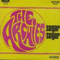 """The Archies 45t. SP """"sugar Sugar"""" - Vinyl Records"""