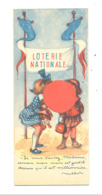 Marque-pages  Publicitaire - Loterie Nationale, Illustrateur POULBOT + Cigarettes BALTO (b260 /2 ) - Marque-Pages