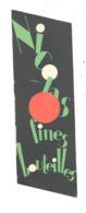 """Marque-pages  Publicitaire - Fines Bouteilles """" NICOLAS """" (b260 /2 ) - Marque-Pages"""