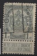 PREOS Roulette - GENAPPE 1909 (position A). Cat 1317 Cote 500 (coin Rond) - Precancels