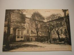 81 Gaillac, école Eugénie De Guérin, Cour De Récréation Et Classes (7637) - Gaillac