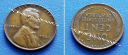 UNITED STATES USA 1 Cent ONE CENT 1946 - LINCOLN - 1909-1958: Lincoln, Wheat Ears Reverse