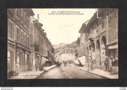 73 - ALBERTVILLE - La Rue De La République Et La Grenette - Albertville