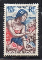 APR899 - POLINESIA 1958 , Yvert N. 9  (2380A)  Usato - Polinesia Francese