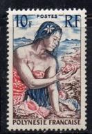 APR1161 - POLINESIA 1958 , Yvert N. 9  (2380A)  ***  MNH - Polinesia Francese