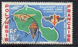 APR1347 - POLINESIA 1964 , Posta Aerea Yvert N. 8  (2380A)  Usato - Posta Aerea