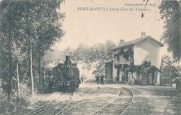 PONT DE VEYLE - GARE DES TRAMWAY - Autres Communes