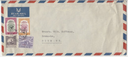 Jordan Air Mail Letter Cover Travelled To Germany B190922 - Jordanie