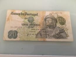 Billet Vinte Escudo Ouro - Portugal 1971 - Portugal