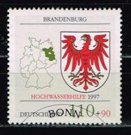 Bund 1997,Michel# 1941 O Hochwasserhilfe Brandenburg - Used Stamps