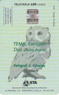Télécarte Andorre 1997 Grand Duc - Andorra